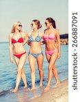 summer vacation  holidays ...   Shutterstock . vector #266887091