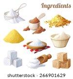 Set Of Food Icons. Ingredients...