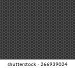 black cell comb seamless...   Shutterstock .eps vector #266939024