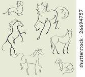 vector illustraition of... | Shutterstock .eps vector #26694757