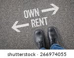 Small photo of Decision at a crossroad - Own or Rent