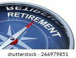 retirement compass | Shutterstock . vector #266979851