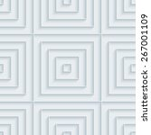 white 3d wallpaper. halftone... | Shutterstock .eps vector #267001109