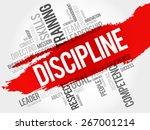 discipline word cloud  business ... | Shutterstock .eps vector #267001214