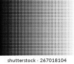 vector halftone dots | Shutterstock .eps vector #267018104
