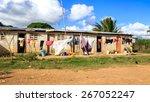 Haitian Refugee Camp On Sugar...