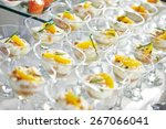 catering services background... | Shutterstock . vector #267066041