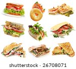 Collection Of Sandwiches ...