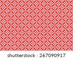 seamless oriental pattern of... | Shutterstock .eps vector #267090917