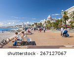 nice  france   october 2  2014  ... | Shutterstock . vector #267127067