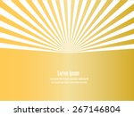 sun sunburst pattern. vector...   Shutterstock .eps vector #267146804
