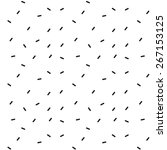 pattern black and white | Shutterstock .eps vector #267153125