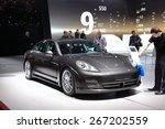 Постер, плакат: Porsche Cayenne Platinum Edition