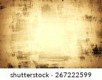 abstract aged digital paper... | Shutterstock .eps vector #267222599