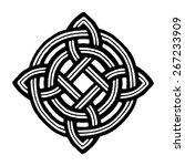 medieval celtic viking tattoo...   Shutterstock .eps vector #267233909