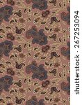 paisley pattern | Shutterstock .eps vector #267253094