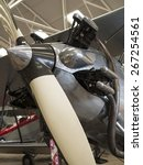 Small photo of 1930s Hawker Hind biplane propeller at the Shuttleworth Collection,Bedfordshire,UK