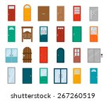 Colorful Front Doors To Houses...