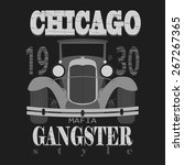 Chicago T Shirt Graphic Design...