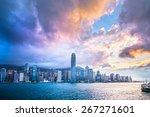 Hdr Images Of Hong Kong City...