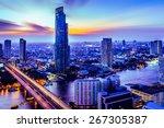 Bangkok City At Night Time ...