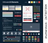 ultimate dark web ui elements   ...
