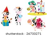 an illustration of differnt of... | Shutterstock .eps vector #26733271