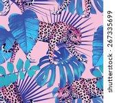 seamless vector painting...   Shutterstock .eps vector #267335699