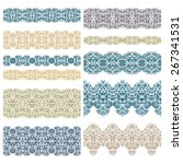 set of decorative ribbons | Shutterstock .eps vector #267341531