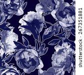 art vintage monochrome... | Shutterstock . vector #267351881