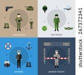 military design concept set... | Shutterstock .eps vector #267372341