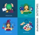 fortune teller design concept... | Shutterstock .eps vector #267372401