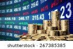 moneyed  money  bank. | Shutterstock . vector #267385385