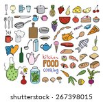 food and cooking color icon