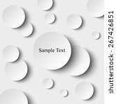 circles background | Shutterstock .eps vector #267426851