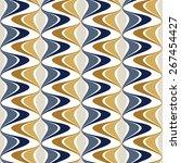 bright seamless pattern. pulse... | Shutterstock .eps vector #267454427