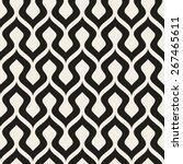 seamless geometric pattern.... | Shutterstock .eps vector #267465611