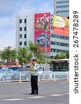 Kunming July 5  2014. Police...