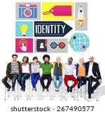 identity branding brand...   Shutterstock . vector #267490577