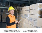 Positive Young Storekeeper At...