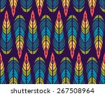 seamless pattern. vintage... | Shutterstock .eps vector #267508964