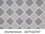 grey geometric pattern | Shutterstock . vector #267516707
