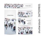 business cards design  skaters... | Shutterstock .eps vector #267539831