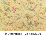 Rose Fabric Background