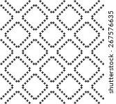 seamless cross pattern | Shutterstock .eps vector #267576635