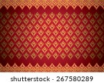 asian traditional art design... | Shutterstock .eps vector #267580289