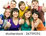 happy young people   Shutterstock . vector #26759251