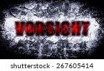 warning | Shutterstock . vector #267605414