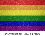 gay flag | Shutterstock . vector #267617801