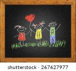 happy kids | Shutterstock . vector #267627977